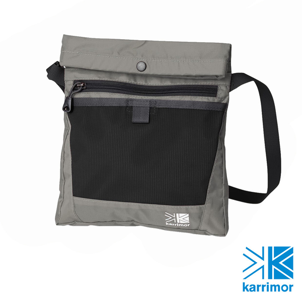 日系[ Karrimor ] trek carry sacoche 多功能輕旅收納袋 銀色