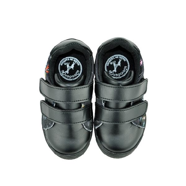 FEARLESS兒童休閒鞋-變形蟲(黑)
