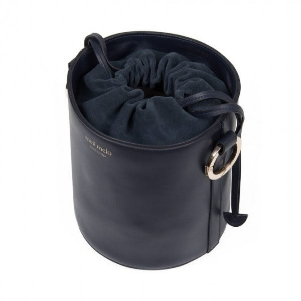 meli melo Santina mini 皇家藍桶包