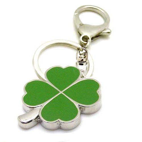 綠色幸運草鑰匙圈