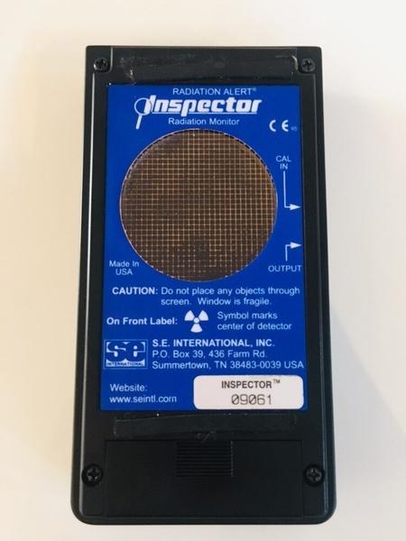 """【 麗室衛浴】美國原裝 RADIATION ALERT INSPECTOR 輻射檢測儀 """"二手轉售9成新"""""""