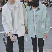 情侶外套   氣質外套男韓版學生寬鬆夾克百搭復古   ciyo黛雅