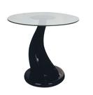 【南洋風休閒傢俱】時尚茶几系列-玻璃造型小圓几 咖啡桌 沙發桌 邊桌 CX693-8