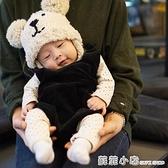 ins爆款20冬韓國兒童帽子雙球小熊護耳針織帽嬰兒寶寶保暖毛線帽 蘇菲小店