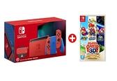 Nintendo Switch瑪利歐亮麗紅×亮麗藍特別版配色主機 瑪利歐遊戲+周邊組 瑪利機 [現貨速發]