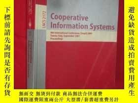二手書博民逛書店Cooperative罕見Information Systems