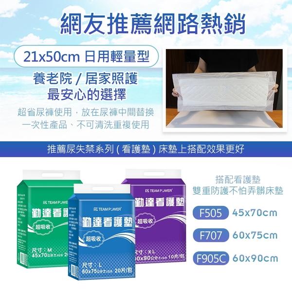 【勤達】熱銷單片3.8元-成人尿片替換尿片(共400片)50片X8包/箱-H366L 減少老人尿褲用量