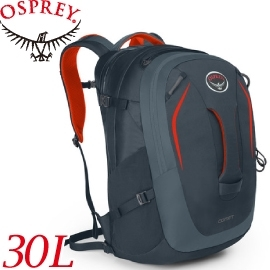 【OSPREY 美國 COMET 30L 盔甲灰 電腦背包《男款》】COMET 30/15吋筆電背包/城市背包/旅行背包★滿額送