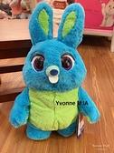 *Yvonne MJA* 美國迪士尼Disney 正版限定商品 玩具總動員4兔崽子(Bunny)精緻說話娃娃