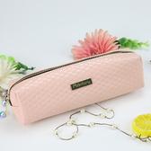 店長推薦 粉色可愛少女心PU便攜式化妝包大容量簡約學生文具其他收納袋特惠