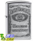[美國直購] Zippo Jack Daniel's Label Pewter Emblem Pocket Lighter $1168