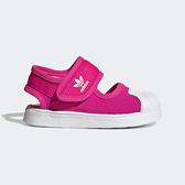 Adidas Superstar 360 [EG5712] 小童鞋 運動 休閒 涼鞋 夏天 貝殼 保護 愛迪達 桃