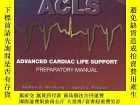二手書博民逛書店Easy罕見ACLS: Advanced Cardiac Life Support Preparatory Man