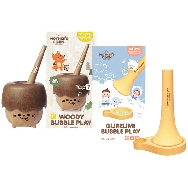 韓國 Mother's Corn 小木森林/瘋狂朵朵雲 兒童泡泡玩具(1入) 款式可選【小三美日】