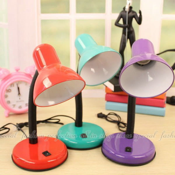 【GG455】護眼檯燈 軟式台燈 E27頭 螺旋燈泡可用★EZGO商城★