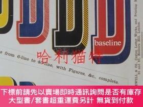 二手書博民逛書店International罕見Typographics Journal : baseline no.12 ST B