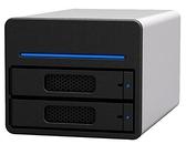 STARDOM ST2-SB3 3.5吋/2.5吋 USB3.0/eSATA 2bay 磁碟陣列設備