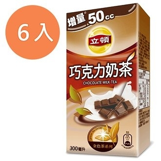 立頓 巧克力奶茶 300ml (6入)/組【康鄰超市】