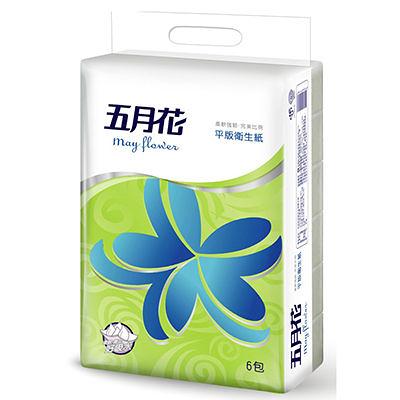 五月花平版衛生紙x6包/串