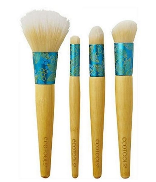 EcoTools 4支美麗組盒裝Four-Piece Beautiful Complexion Set  4 Brushes