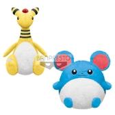 1月預收 玩具e哥 景品 精靈寶可夢 暖心療癒 大型絨毛布偶 電龍 瑪力露(水球鼠) 2款一套代理16998
