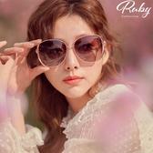 墨鏡 玫瑰漸層鏡面墨鏡-Ruby s 露比午茶