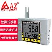 AZ(衡欣實業) AZ 7722  壁掛式二氧化碳偵測計