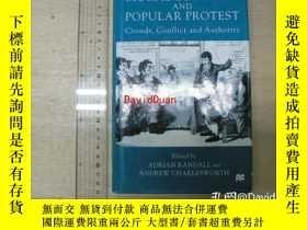 二手書博民逛書店The罕見Moral Economy and Popular Protest: Crowds, Conflict