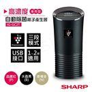 超下殺【夏普SHARP】高濃度車用型自動除菌離子產生器 IG-GC2T-B 水晶黑