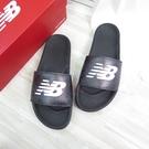 New Balance 海綿拖涼鞋 運動拖鞋 SMF200BW 男款 黑【iSport愛運動】