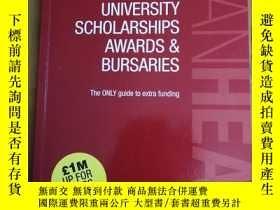 二手書博民逛書店University罕見Scholarships, Awards