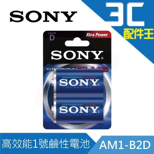 SONY  高效能1號鹼性電池 ( AM1-B2D ) ( 2入 )