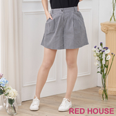 【RED HOUSE 蕾赫斯】格紋短褲