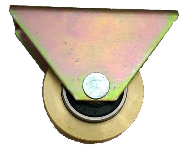 門輪 1200型銅培林輪 雙培 附自攻白鐵410螺絲*2