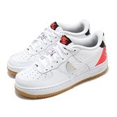 Nike 休閒鞋 Air Force 1 LV8 1 HO20 GS 白 黑 女鞋 大童鞋 拼接設計 NBA 運動鞋 【ACS】 CT3842-101