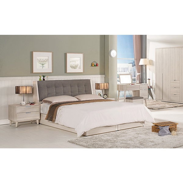 床箱 床底 愛莎5尺被櫥式雙人床(18CM/065-2)【DD House】