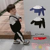 男童春秋套裝寶寶 兩件套兒童休閒秋裝衣服潮~聚可愛~