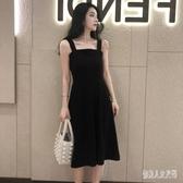 2020新款夏流行女士裙子時尚超仙森系吊帶洋裝甜美顯瘦氣質連身裙 yu12427『俏美人大尺碼』