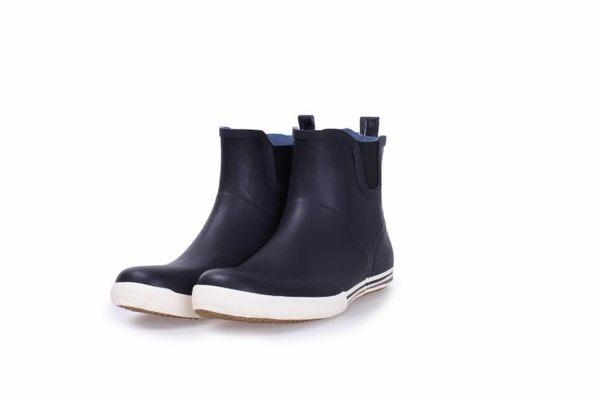 雨鞋低幫環保橡膠高爾夫水鞋【藍星居家】