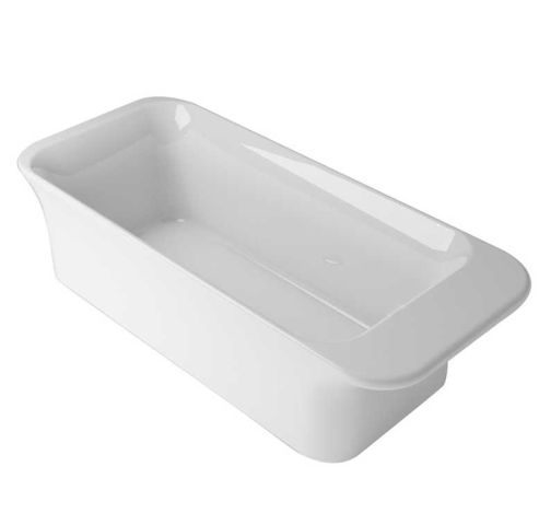 【麗室衛浴】英國ICI KERAMIN BAK02-004無接縫一體設計 造型獨立浴缸 185*80*60CM