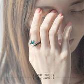 戒指 花芽原創荊棘情侶對戒純銀戒指一對日韓男女潮人個性開口尾戒禮物   酷動3C
