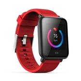 【JSmax】JSmax SW-Q9 旗艦款智慧健康運動管理手錶(運動紅色