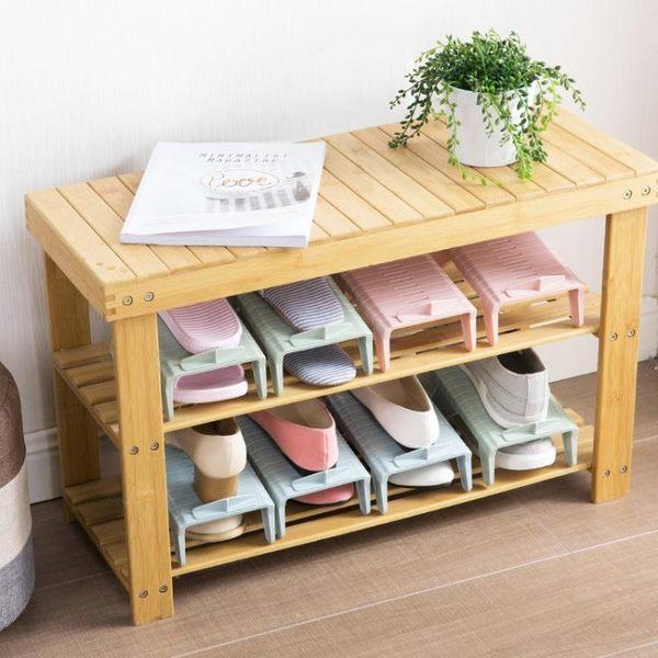 一體式雙層鞋架客廳鞋櫃鞋托架 家用省空間簡易鞋子收納架 滿千89折限時兩天熱賣
