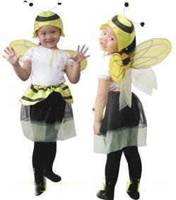 【蜜蜂仙子】萬聖節服裝.聖誕節服裝表演服裝表演道具舞衣舞蹈用品
