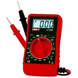 泰菱電子◆口袋式三用電錶/電表㊣台灣總代理UNI-T優利德UT-20B TECPEL