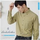 【大盤大】Brooks Brothers 男 S號 長袖 格子襯衫 百貨原裝 格紋 翻領 情人 爸爸禮物【版型偏大】
