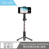 【WiWU吉瑪仕】Tripod Gimbal SelfieStick雲台防震自拍器三腳架TGS301