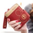 2021夏季新款女士錢包短款簡約摺疊韓版卡通拉鏈學生零錢包 黛尼時尚精品