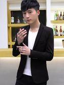 春季男士小西裝休閒韓版修身單件上衣發型師帥氣英倫西服外套潮流