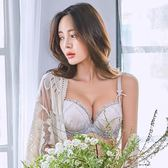 【優選】刺繡蕾絲少女文胸套裝日系性感聚攏有鋼圈